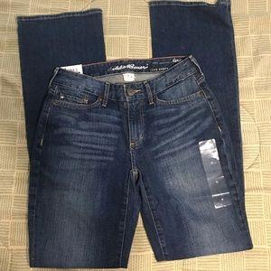 3/$15 NWT Eddie Bauer bootcut Jeans size 0…